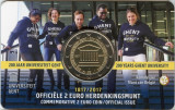 Moneda BELGIA 2 euro comemorativa 2017- Gent, coin card, Europa, Cupru-Nichel