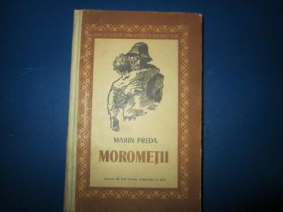 MOROMETII-MARIN PREDA, VOL.1 foto