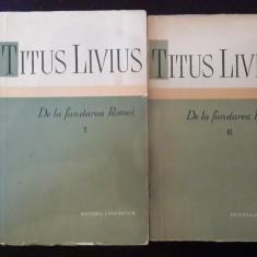 De La Fundarea Romei ( Vol 1 +2) - Titus Livius - 9
