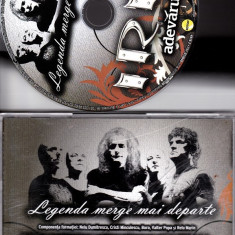 Iris Legenda merge mai departe - Muzica Rock roton, CD