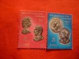 Serie  Aniversare Incoronare Regina Elisabeta 1978 Jersey , 2 valori