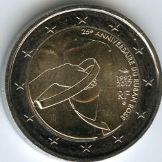 moneda 2 euro comemorativa FRANTA 2017_Cancer, UNC