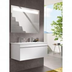Villeroy & Boch, Venticello, mobilier suspendat, 2 sertare, 115 cm, negru mat - Corp baie