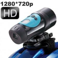 Mini camera sport rezistenta la apa HD 720P - Camera Video Actiune