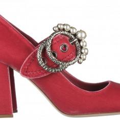Pantofi Miu Miu - Pantof dama Miu Miu, Culoare: Roz, Marime: 35, 36, 38
