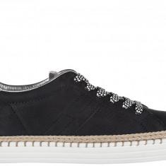 Sneakers Hogan - Adidasi dama Hogan, Culoare: Albastru, Marime: 36.5, 39, 40