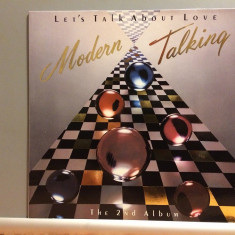 MODERN TALKING - LET'S TALK ABOUT LOVE (1985/HANSA rec/RFG) - Vinil/Analog/Vinyl - Muzica Pop ariola