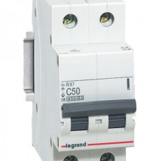 Disjunctor 419702 2P/C/50A/4.5KA - Tablou electric si siguranta