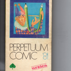 PERPETUUM COMIC URZICA* - 1981 - Almanah