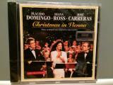 DOMINGO/CARRERAS/ROSS - Christmass(1993/Sony/Germany) - CD ORIGINAL/Sigilat/Nou, sony music