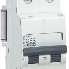 Disjunctor 419703 2P/C/63A/4.5KA - Tablou electric si siguranta