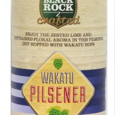 Black Rock Crafted Wakatu Pilsner - kit pentru bere de casa 23 litri.