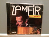 ZAMFIR - GREATEST HITS (1989/DELTA Rec/RFG) - CD ORIGINAL/Nou/Sigilat, universal records