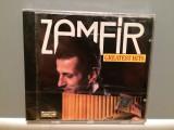 ZAMFIR - GREATEST HITS (1989/DELTA Rec/RFG) - CD ORIGINAL/Nou/Sigilat