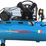Compresor aer 100L Visoli, 10bar, 220v-Oferta Limitata - Compresor electric