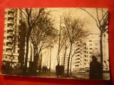 Ilustrata Bucuresti Bul. N.Balcescu circulat 1957, Circulata, Fotografie