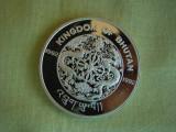 BHUTAN - 300 ngultrums 1992 Argint 925, Asia