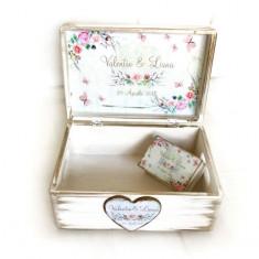 Watercolor Love – cutie personalizata, Cadouri Valentine`s Day