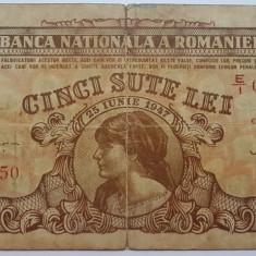 Romania 500 lei 1947 - Bancnota romaneasca