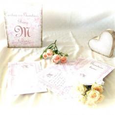 Carte cu Ganduri Bune Delicate – Guestbook personalizat nunta