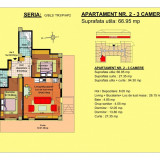 Apartament 3 camere Brasov, zona Tractorul - Apartament de vanzare, 69 mp, Numar camere: 3, An constructie: 2018, Parter