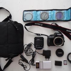 Canon EOS 100D, aparat foto 18 MP + obiectiv EF-S 18-55mm - Aparat foto DSLR