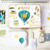 Summer Love Hot Air Balloon- Trusou Botez Personalizat Travel