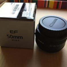Obiectiv Canon EF 50mm f/1.8 II - Obiectiv DSLR