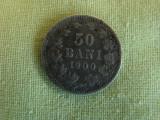 50 bani 1900, Argint