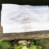 Bride&Groom Wedding Towels- Set Prosoape Nunta Personalizate
