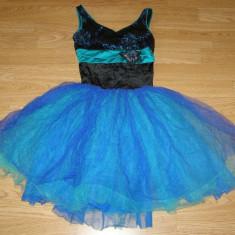 Costum carnaval serbare rochie dans pentru copii de 7-8-9 ani - Costum dans, Marime: Masura unica, Culoare: Din imagine