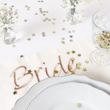 Bride & Groom Set Table Placemats- Servet masa nunta personalizat - Decoratiuni nunta
