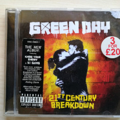 Green day – 21st Century Breakdown - Muzica Rock warner, CD