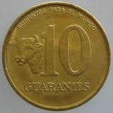 PARAGUAY KM#178a - 10 Guaranies 1996 UNC, America Centrala si de Sud