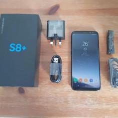 Samsung Galaxy S8+ 64GB Black - Telefon Samsung, Negru, Neblocat, Single SIM