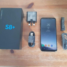 Samsung Galaxy S8+ 64GB Black - Telefon Samsung, Negru, Neblocat, Single SIM