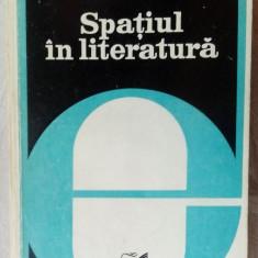 VALERIU CRISTEA - SPATIUL IN LITERATURA (FORME SI SEMNIFICATII) [1979]