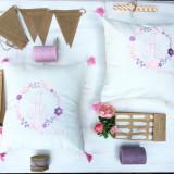 Wedding Flowers Cushions- Set Perne Personalizate Nunta - Decoratiuni nunta