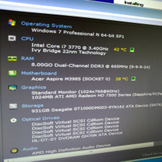 PC Calculator i7 8GB RAM, Intel Core i7, Acer