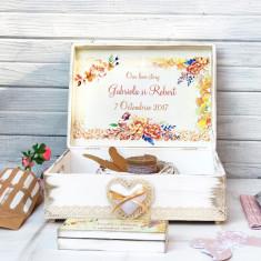 Autumn's Beauty – cutie personalizata nunta, Cadouri Valentine`s Day