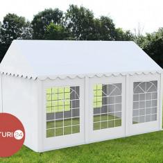 3X6 M CORT EVENIMENTE PROFESIONAL ECONOMY, PVC 500 g/m² ALB