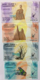Bancnota Madagascar 100, 200, 500 si 1.000 Ariary 2017 - PNew UNC ( set x4 )