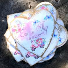 Italian Lovely Magnets – marturii magneti personalizati - Marturii nunta