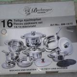 Set oale Solingen - 16 piese - 1000 de lei - NOI - oala, cratita