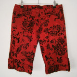 Pantaloni dama superbi 3/4 Sado, mar 34, stare buna!