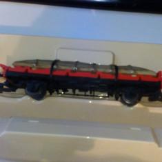 Bnk jc Anglia - Hornby OO Gauge - vagon de marfa R235-0010 - Macheta Feroviara Hornby, 1:76, Vagoane