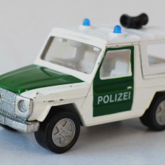 Macheta Siku - Mercedes - Polizei - Macheta auto Matchbox, 1:64