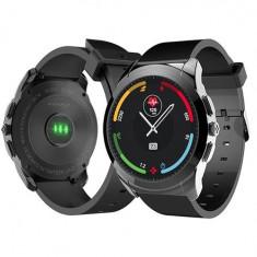 ZeTime - Primul ceas elvetian smart hibrid, ecran de safir, rezistent la apa - Smartwatch MyKronoz, Otel inoxidabil, watchOS, Apple Watch