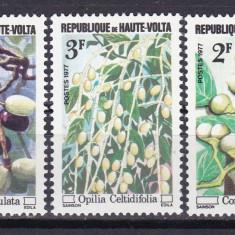 Volta 1977 fructe MI 671-673 MNH w45 - Timbre straine, Nestampilat