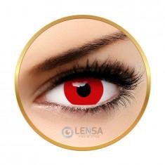 Lentile de contact Crazy Red Out - Lentile de contact colorate